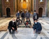 FINE LAVORI per il cantiere di ricostruzione e restauro di San Giuseppe dei Falegnami - SGF12_-_23_dicembre_2020_07e31c72380ad16756c3d0864e3e2123